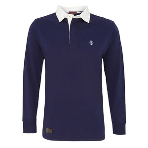 Men's Navy Rugby Shirt