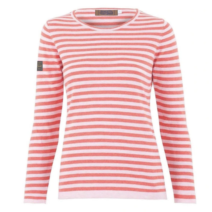 Gallatea Blush Cotton Lightweight Jumper