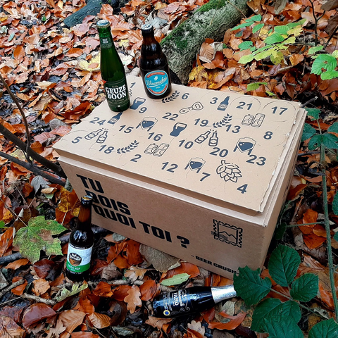 emballage calendrier avent biere beercrush