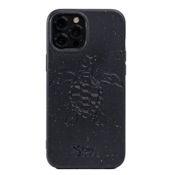 Funda para Iphone 12 PRO MAX Black Edition Apoyo A Las Tortugas Marinas