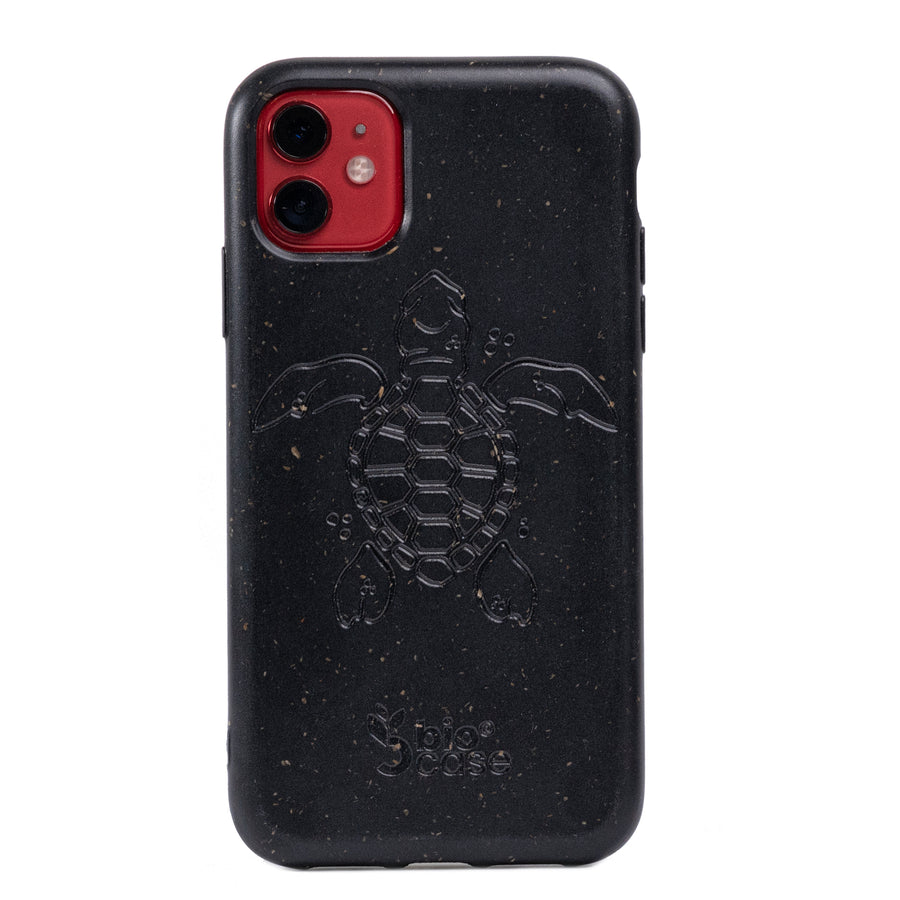 Funda para Iphone 11 Black Edition Apoyo A Las Tortugas Marinas
