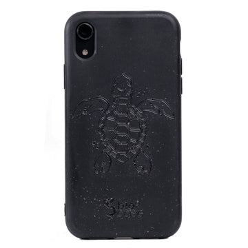 Funda para Iphone XR Black Edition Apoyo A Las Tortugas Marinas
