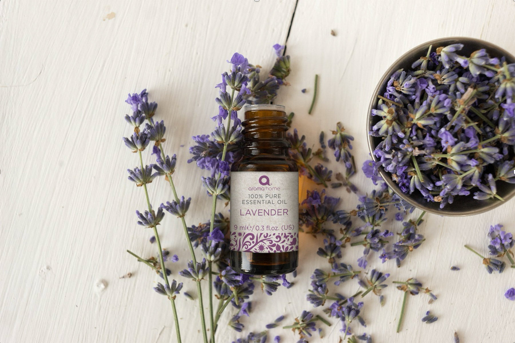 Aroma Home - the benefits of Lavender