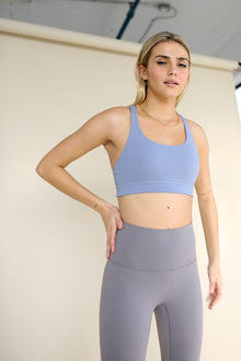 Power Bra - Powder Blue