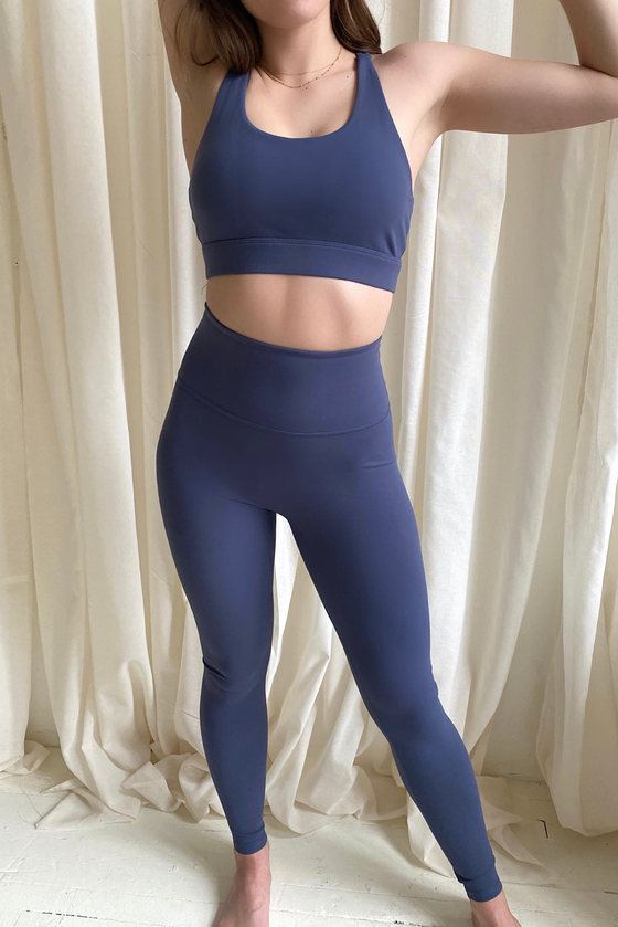 Performance Extra High Rise Legging - Slate