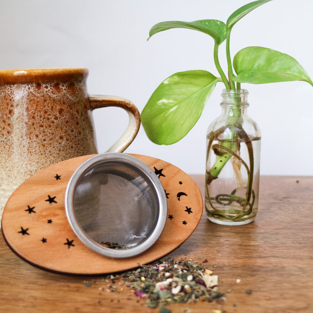 Wooden Tea Strainer