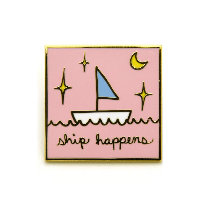 Ship Happens Pin