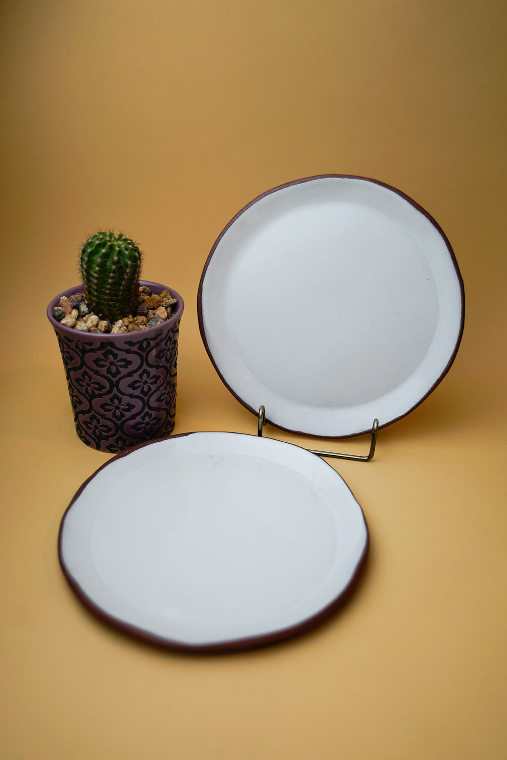 Hand thrown Plate