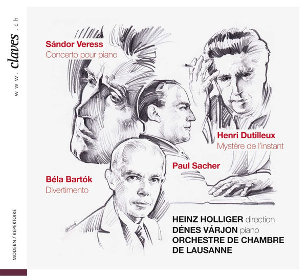 Claves records bbc magazine heinz holliger l for Chamber l orchestre de chambre noir