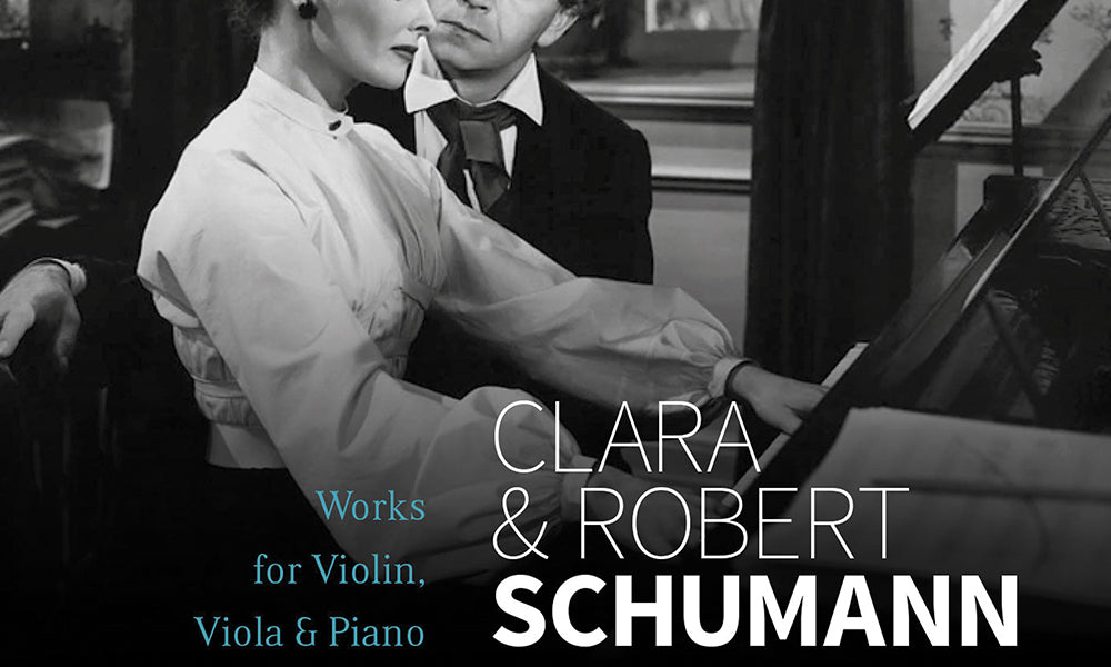 Music Web International: Clara & Robert Schumann, Nurit Stark & Cédric Pescia