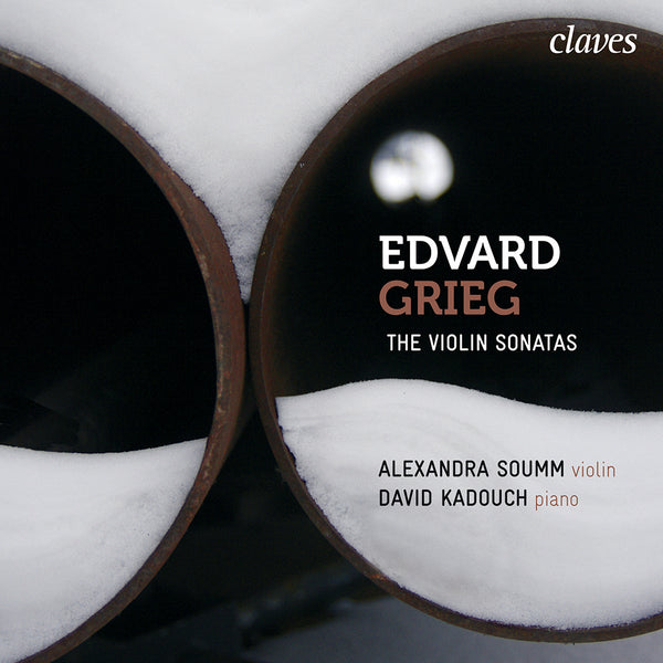 (2010) Grieg: The Violin Sonatas, Op. 8, Op. 13 & Op. 45 / CD 1002 - Claves Records