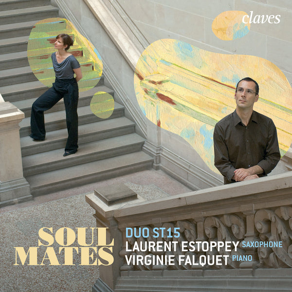 (2011) Soul Mates: Contemporary Music for Saxophone & Piano / CD 1111 - Claves Records