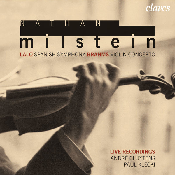 (2007) Lalo & Brahms: Violin Concertos / CD 2708 - Claves Records