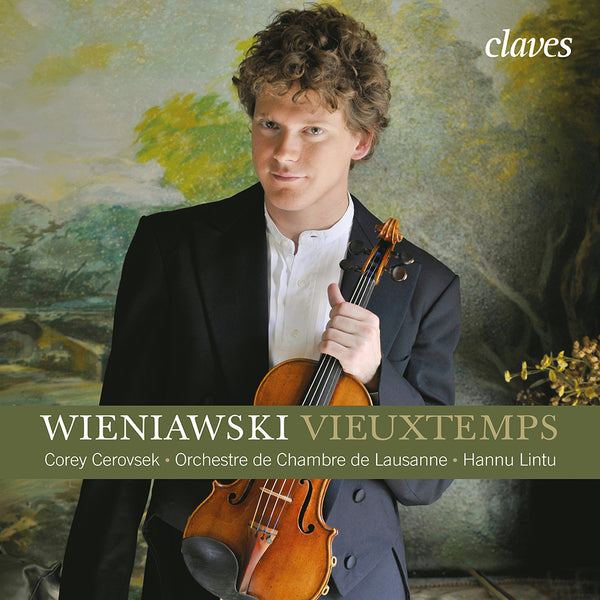 (2008) Vieuxtemps: Violin Concerto No. 5, Op. 37 - Wieniawski: Violin Concerto No. 2, Op. 22 / CD 2801 - Claves Records