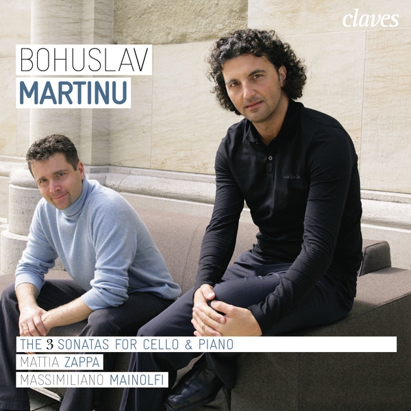 (2008) Martinu: The Three Cello Sonatas / CD 2803 - Claves Records