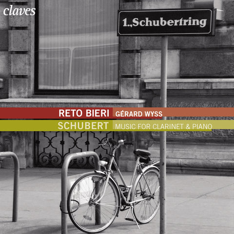 (2008) Schubert: Violon Sonatas, German Dances & Lied Transcribed for Clarinet and Piano