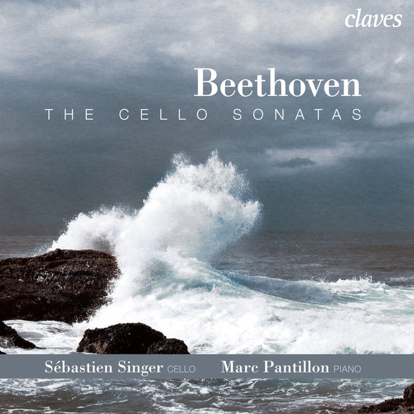 (2009) Beethoven: The Cello Sonatas / CD 2914/15 - Claves Records