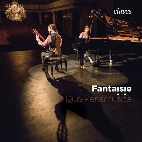 (2017) Fantaisie: Works for Piano & Guitar, Duo Perlamusica - CD 1708