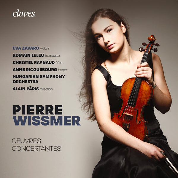 (2018) Pierre Wissmer: Oeuvres concertantes / CD 1811 - Claves Records