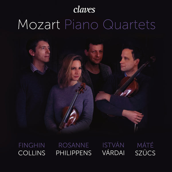 (2020) Mozart: Piano Quartets / CD 3002 - Claves Records