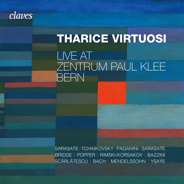 (2020) Tharice Virtuosi - Live at Zentrum Paul Klee, Bern / CD 3005/06 - Claves Records