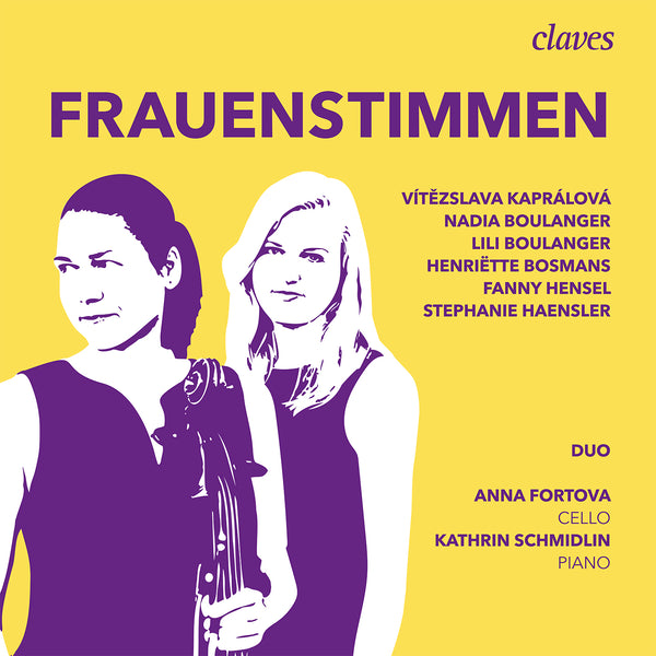 (2021) Frauenstimmen - Duo Anna Fortova, Kathrin Schmidlin / CD 3029 - Claves Records