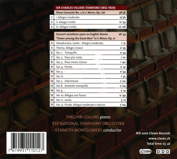 (2010) Stanford : Music for Piano & Orchestra - CD 1101 - Claves Records