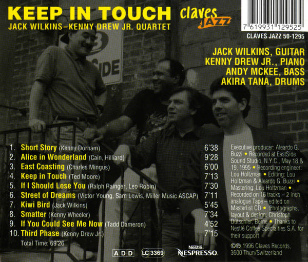 (2013) Keep in Touch - CJ 1295 - Claves Records
