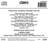 (1991) W. A. Mozart : The Four Flute Quartets
