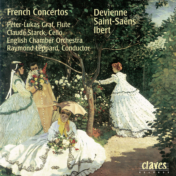 (1997) French Concertos - CD 0501 - Claves Records