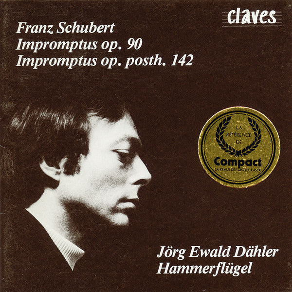 (1986) Schubert: Impromptus / CD 0509 - Claves Records