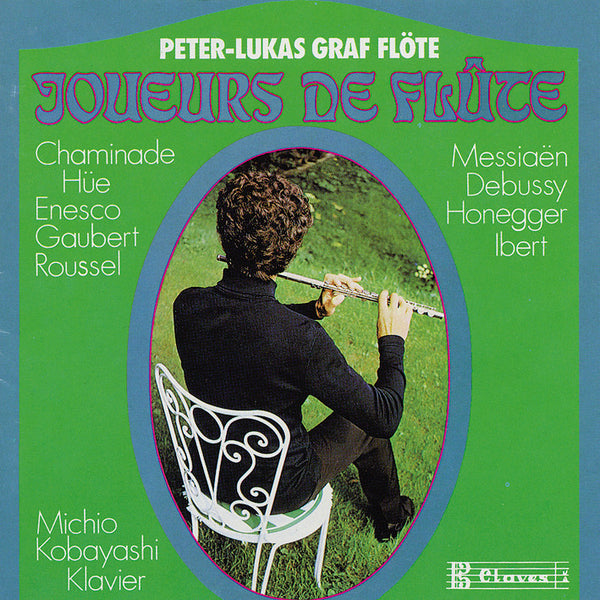 (1997) French Music for Flute - CD 0704 - Claves Records
