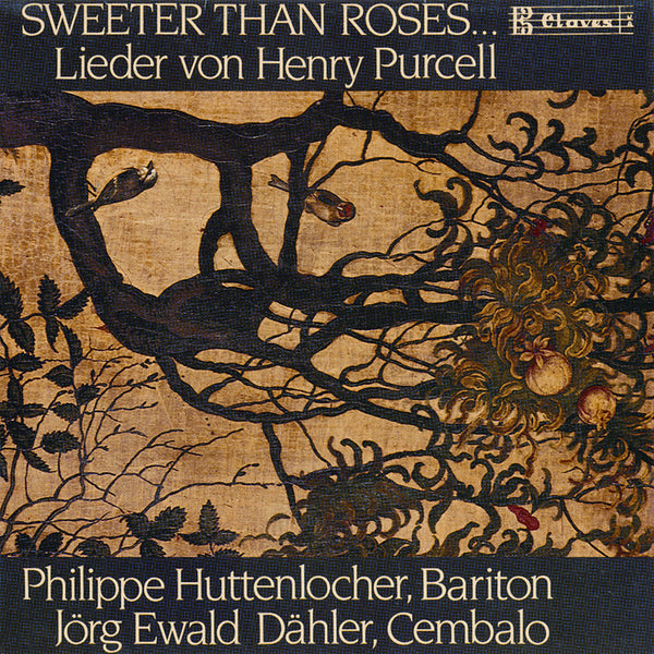 (1989) Purcell/Sweeter Than Roses… / CD 0705 - Claves Records