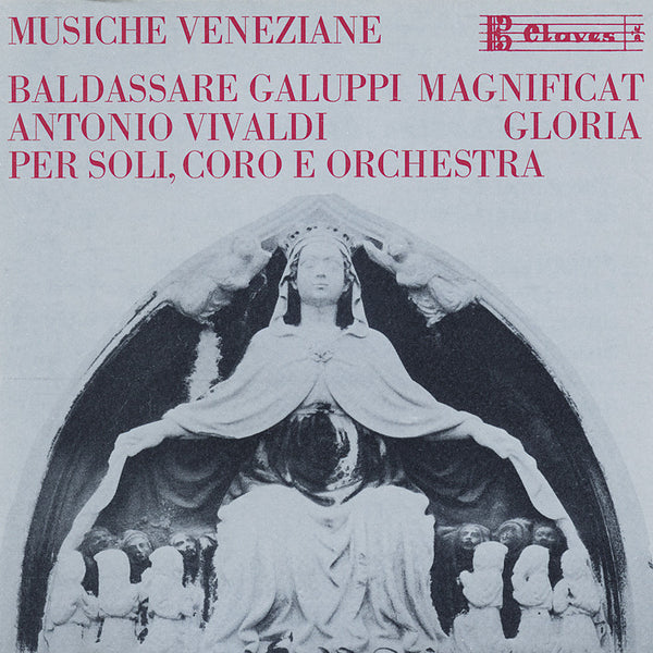 (1986) Musiche Veneziane / CD 0801 - Claves Records