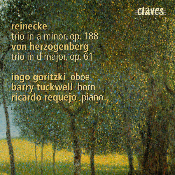 (1986) Reinecke: Trio In A Minor, Op. 188 / Herzogenberg: Trio In D Major, Op. 61 - CD 0803 - Claves Records