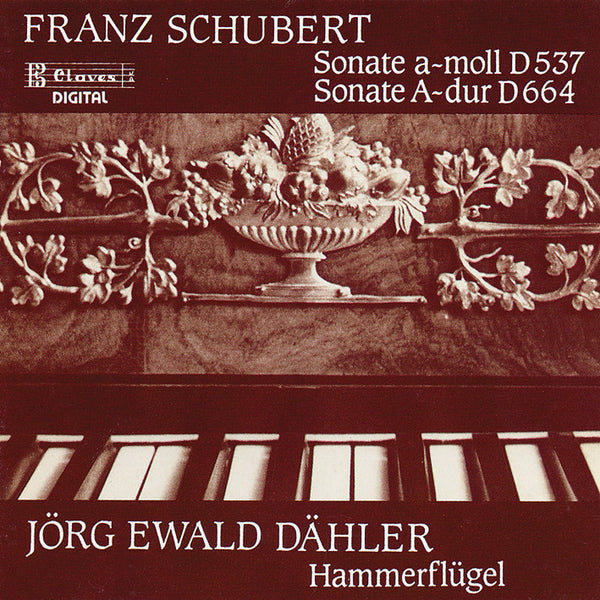 (1988) Schubert Sonatas on Brodmann's Hammerklavier - CD 0807 - Claves Records