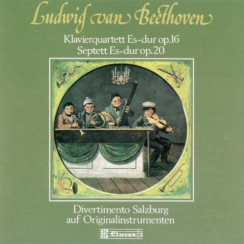 (1989) Beethoven : Quartet for Piano and Strings, Op. 16 & Septet, Op. 20
