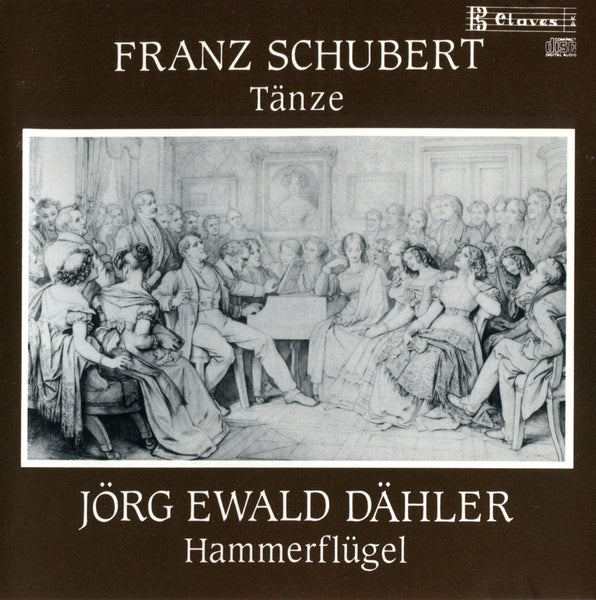 (1988) Franz Schubert: Selected Dances, D146, D783, D790 / CD 0903 - Claves Records