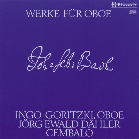 (1987) J. S. Bach : Works for Oboe and Harpsichord