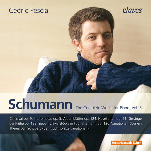 (2011) Schumann: The Complete Works for Piano, Vol. 5 / CD 1103/04 - Claves Records