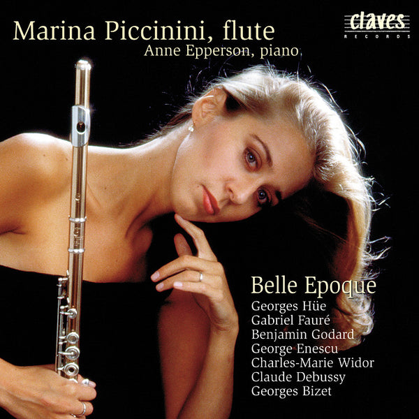 (2000) Flute Recital: Paris, Belle Epoque - CD 2009 - Claves Records