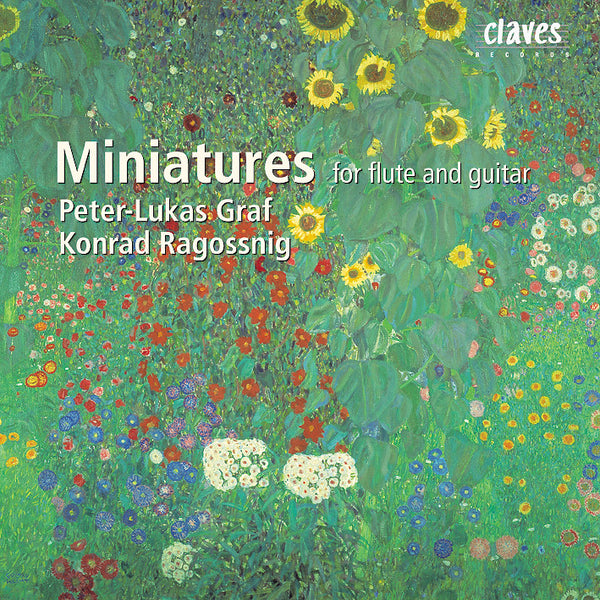 (2000) Miniatures For Flute & Guitar / CD 2013 - Claves Records