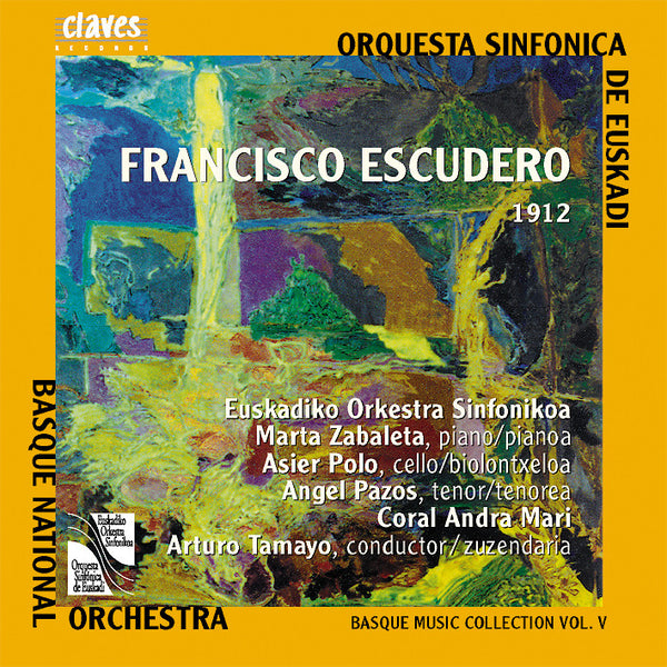 (2001) Basque Music Collection, Vol. V: Francisco Escudero - CD 2110-11 - Claves Records