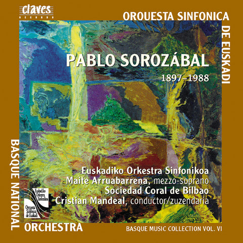(2002) Basque Music Collection, Vol. VI: Pablo Sorozábal