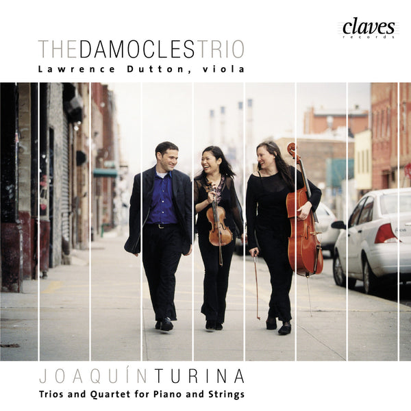 (2004) Joaquín Turina: Trios & Quartet for Piano & Strings / CD 2409 - Claves Records
