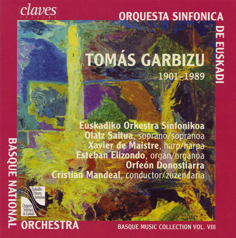 (2004) Basque Music Collection, Vol. VIII: Tomás Garbizu