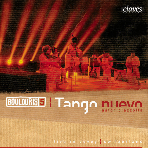 (2004) Piazzolla: Tango Nuevo (Live Recording, Vevey 2004) / CD 2414 - Claves Records