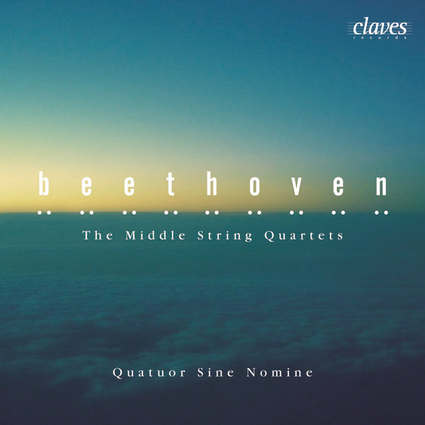 (2005) Beethoven: String Quartets Op. 59, Op. 74 & Op. 95 / CD 2509/10 - Claves Records