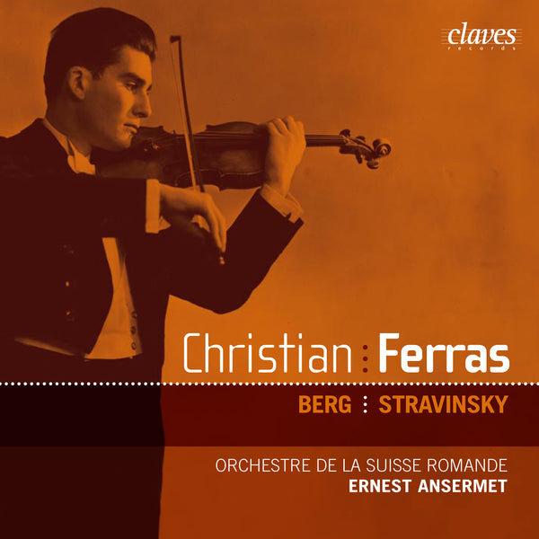 (2005) Berg & Stravinsky: Violin Concertos / CD 2516 - Claves Records