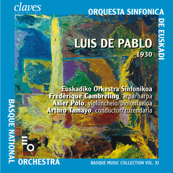 (2008) L. de Pablo: Danzas Secretas - Frondoso Misterio - CD 2817 - Claves Records